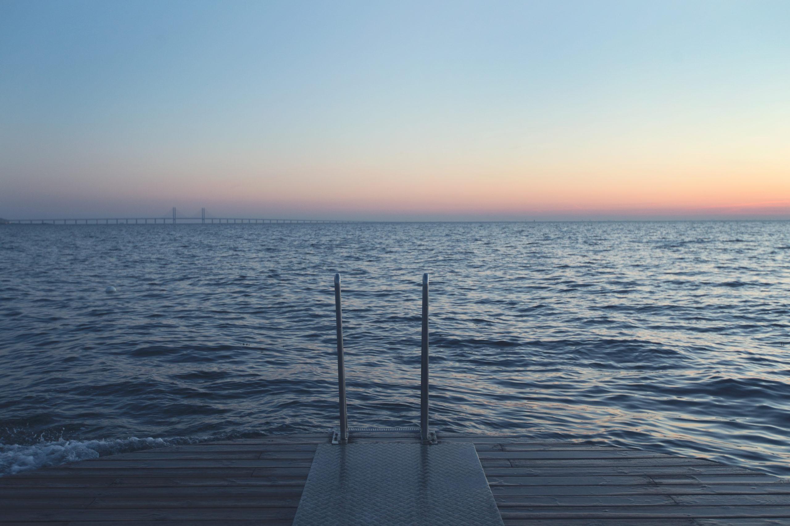 ocean view in sweden